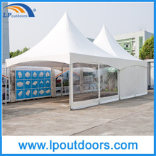 6X12 m 20 'al aire libre de aluminio High Peak Spring Top Carpa para evento